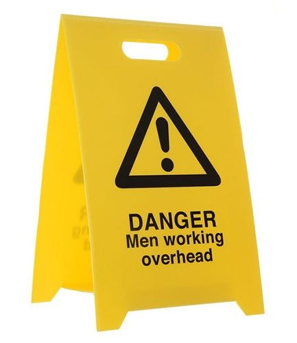 Custom Floor Safety A Board - Fire Safety Signs