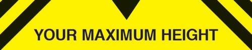 Custom Maximum Height Traffic Signs - Traffic & Car Park Signs