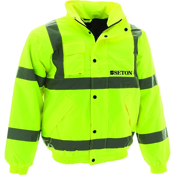 Custom Hi-Vis Bomber Jacket - Hi Vis Clothing