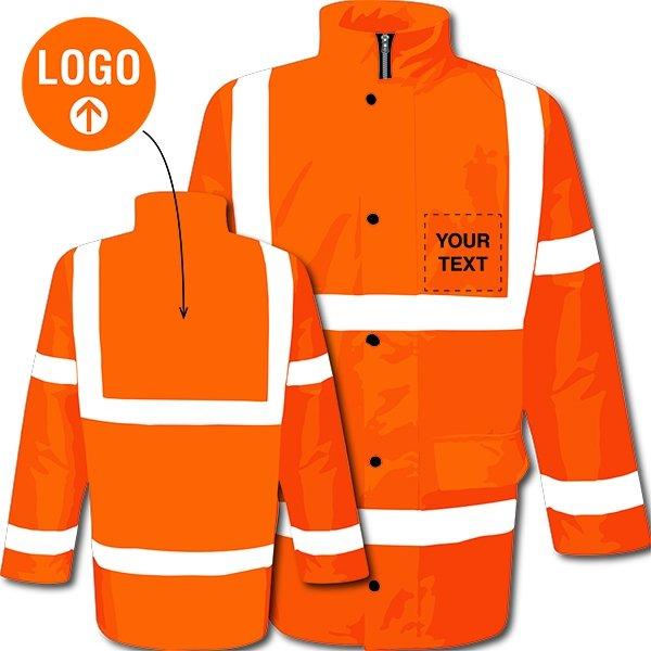 Custom Hi-Vis Motorway Jacket - Protective Clothing