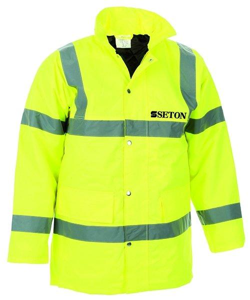 Custom Hi-Vis Motorway Jacket - Hi Vis Clothing