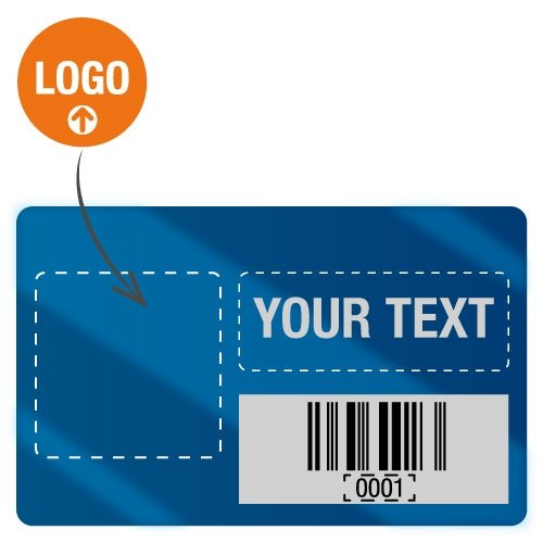 Customised Duraguard Asset Tags - Packs of 100 - Seton