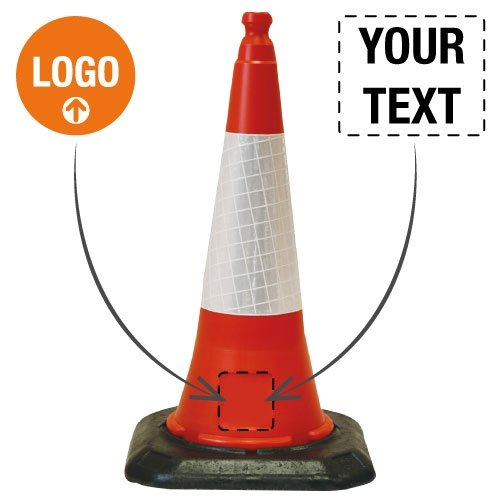 Custom Dominator Traffic Cone - Seton