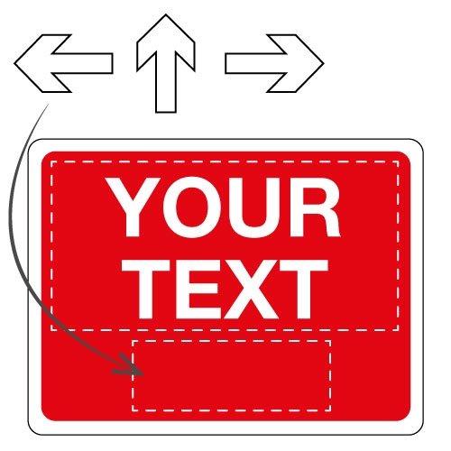 Customisable Traffic Signs - Seton