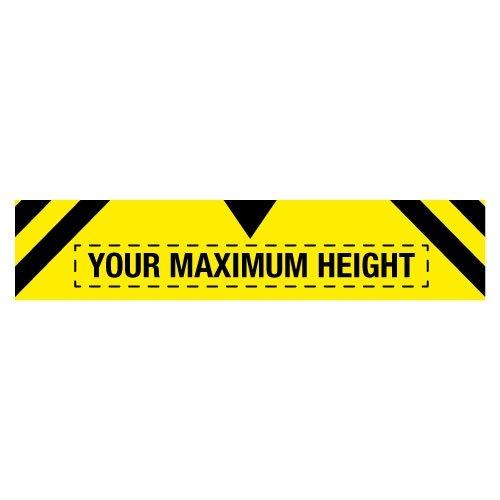 Custom Maximum Height Traffic Signs - Seton
