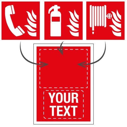 Custom Fire Equipment Signs - Seton