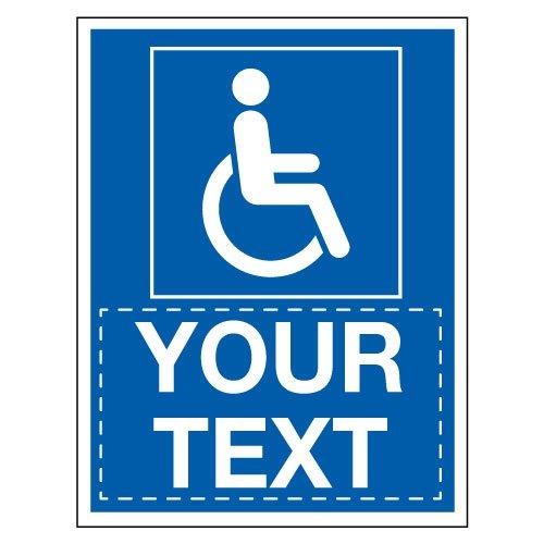 Custom Disabled Parking Signs - Seton