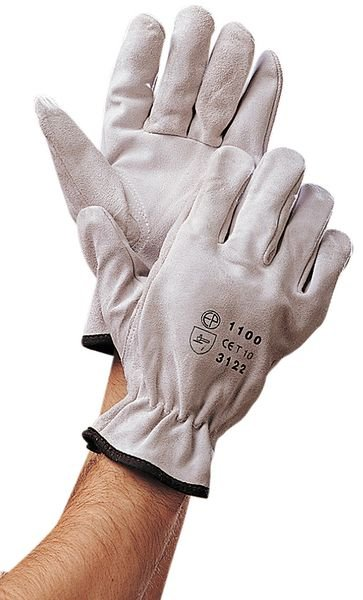 Eurotechnique® Split or Grain Leather Gloves - Safety Gloves