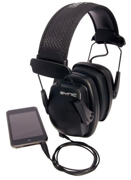 Howard Leight® Sync™ Stereo Earmuff - 31 dB - Ear Muffs