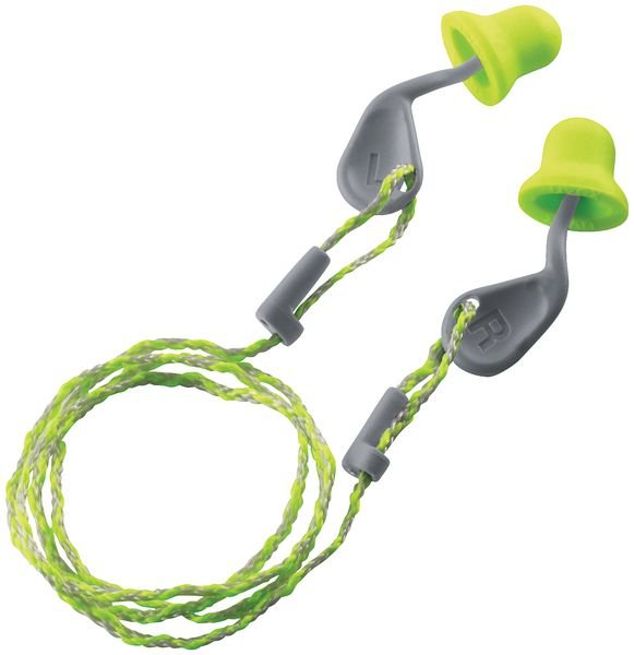 Uvex Xact-fit Single Use Earplugs - 26 dB