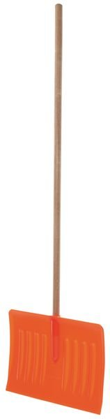 Snow Pusher With Wooden Pole