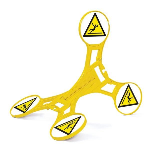 Seton 360 Floor Stand - Slippery Surface - Trip & Slip Hazard Signs