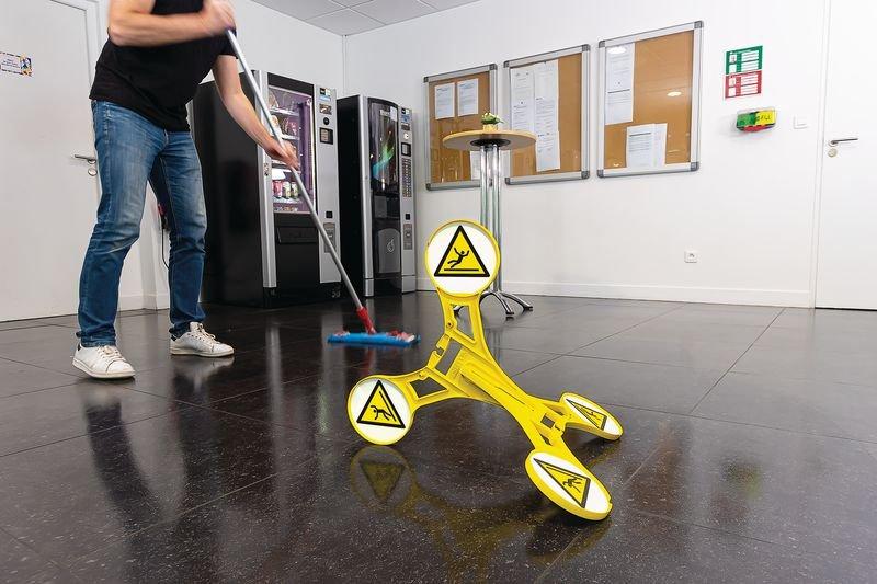 Seton 360 Floor Stand - Slippery Surface - Seton