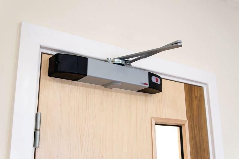 Agrippa Acoustic Digital Door Closer - Seton