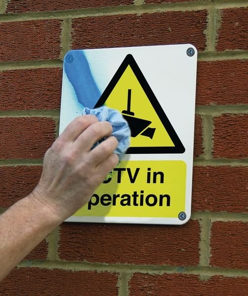CCTV In Operation - Vandal-Resistant Sign - Security & CCTV Signs