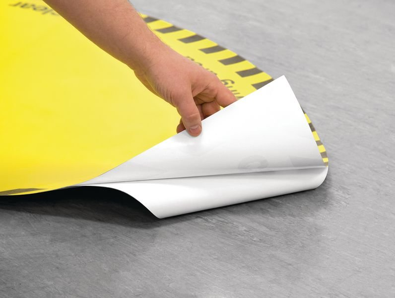 Paper Recycling Anti-Slip Floor Signs - Seton