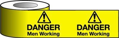 Barrier Warning Tapes - Danger Men Working