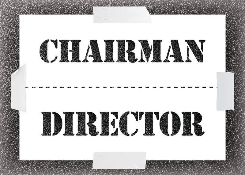 Chairman/Director Stencil Kit