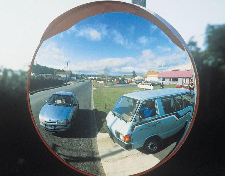 Heavy-Duty Round Traffic Mirrors