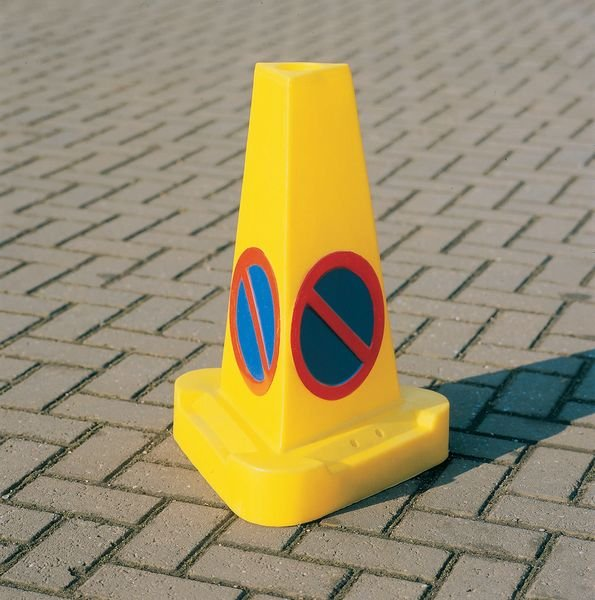 Triangular No Waiting Traffic Cone - Seton
