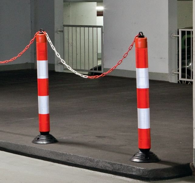 Private Use Swing Back Bollards - Seton