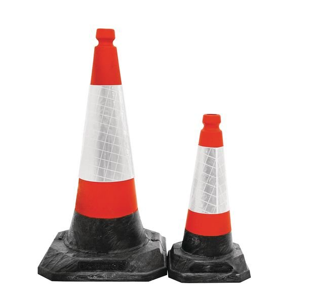 JSP® Self-Weighted Recycled Traffic Cones - Seton