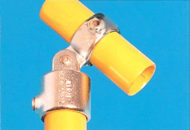 Galvanised Clamps - Single Swivel Combination