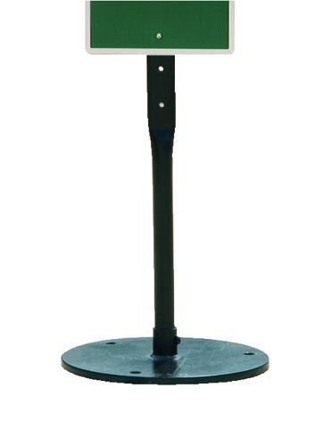 Black Moveable Signpost