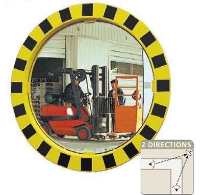 Round Industrial Warehouse Mirror - Seton