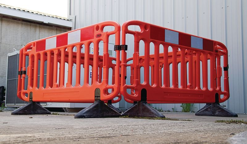 JSP® Frontier Barrier Stability Poles - Safety Barriers