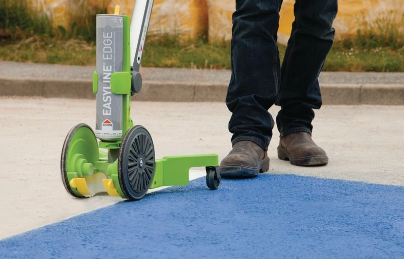 ROCOL® EASYLINE® Edge Line Marking System - Line Marking & Surface Repair
