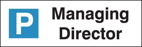 Managing Director - Parking Bay Signs