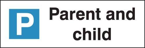 Parent & Child - Parking Bay Signs