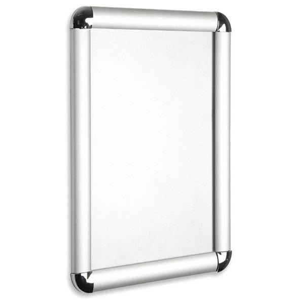 Chrome Corner Aluminium Snap Frames