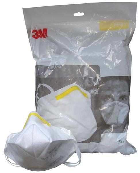 3M™ K100 FFP1 Folding Respirator Masks - Seton