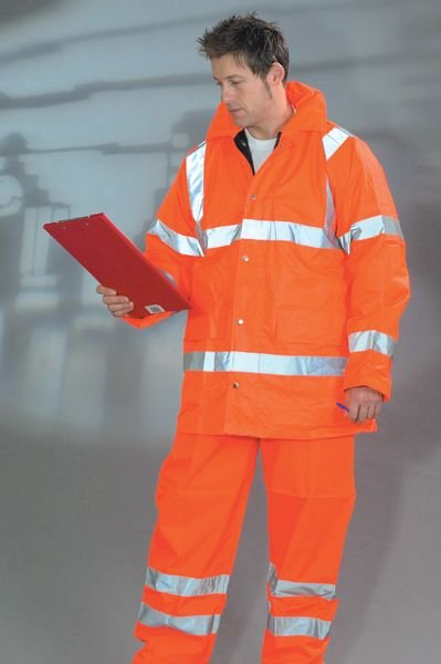 High Visibility Railway Trousers