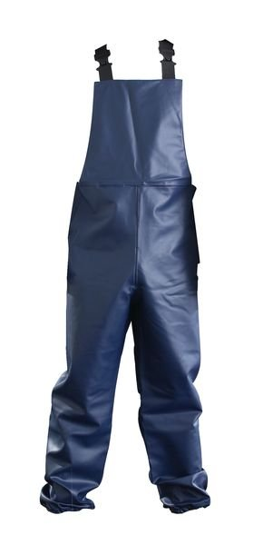 Food Industry Chemical-Resistant Work Dungarees