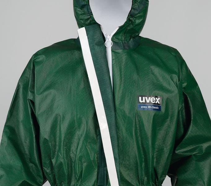 Uvex Type 3B Classic Chemical Resistant Suit - Protective Clothing