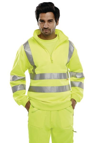 High Visibility Fleece Sweatshirt