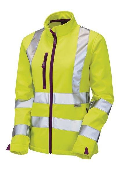 Ladies High Visibility Softshell Jacket