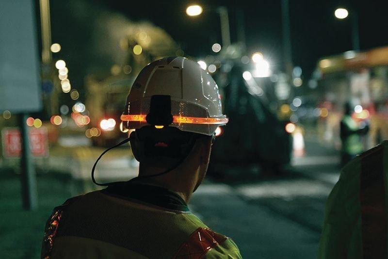 JSP® Visilite® Safety Helmet Light - Head Protection