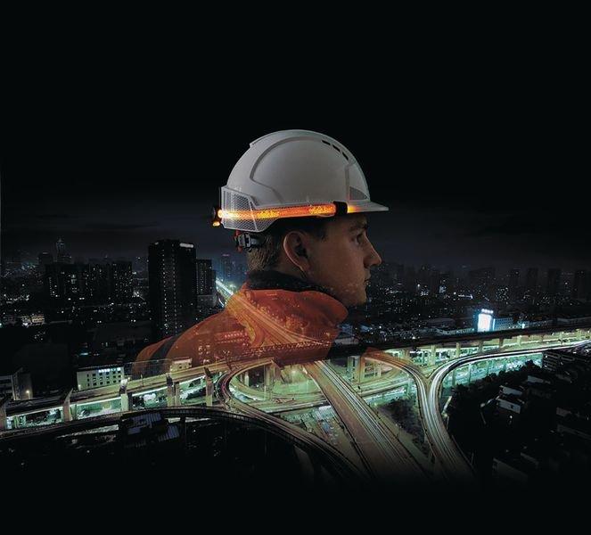 JSP® Visilite® Safety Helmet Light