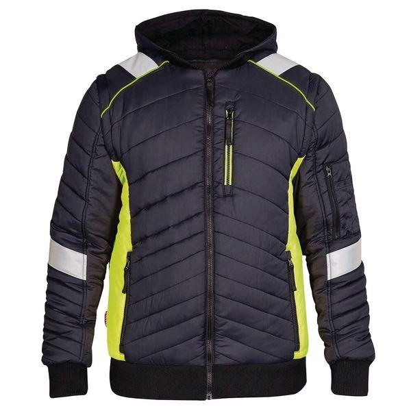 Engel Cargo Quilted Work Jacket