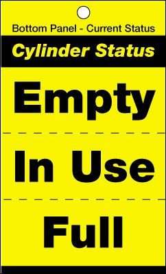 Cylinder Status Tags - Cylinder Status