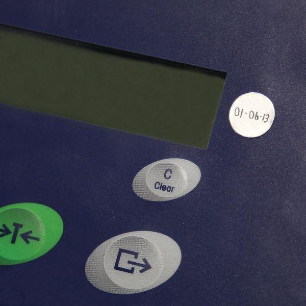 Blank Aluminium Foil Dots - Quality Control Labels