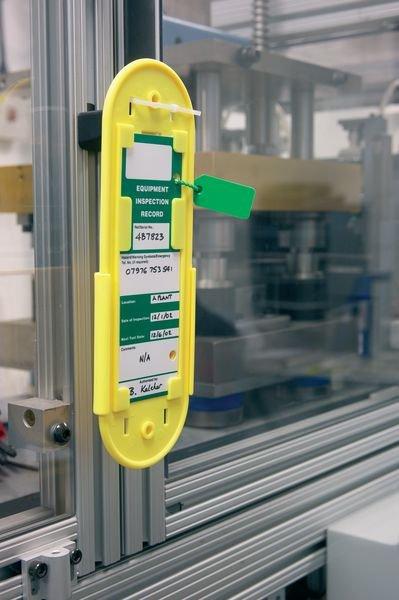 Blank Multi-Purpose Tag Holder/Slider Safety Message Tags - Seton