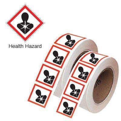 Health Hazard - GHS Symbols On-a-Tape