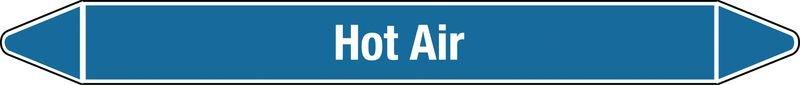 Hot Air - European Linerless Pipe Markers