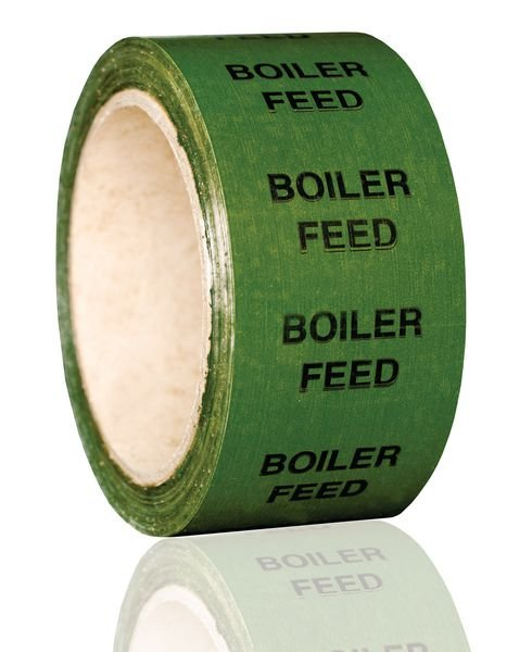 British Standard Pipeline Marking Tape - Boiler Feed