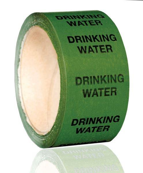 British Standard Pipeline Marking Tape - Drinking Water